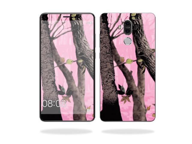 Skin Decal Wrap for Huawei Mate 9 cover sticker skins Pink Tree Camo