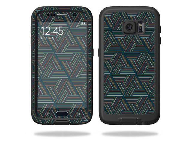 Skin Decal Wrap for LifeProof fre Samsung Galaxy S6 Case Triangle Stripe