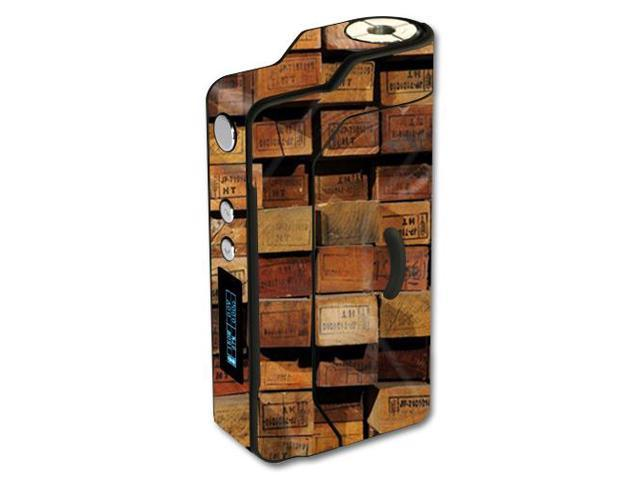 Skin Decal Wrap for Sigelei 150W TC sticker Stacked Wood