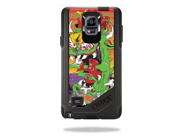 Skin Decal Wrap for OtterBox Commuter Galaxy Note 4 Case Dragon Rocker