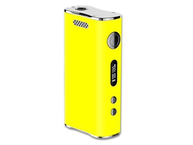 Skin Decal Wrap for Eleaf iStick 100W skins sticker vape Solid Yellow
