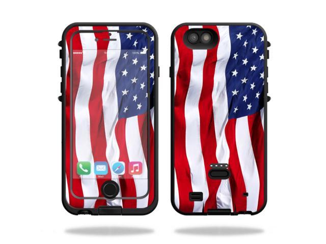 Skin Decal Wrap for LifeProof FRE Power iPhone 6 Plus/6s Plus American Flag