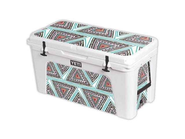 Skin Decal Wrap for YETI Tundra 110 qt Cooler cover sticker Aztec Pyramids