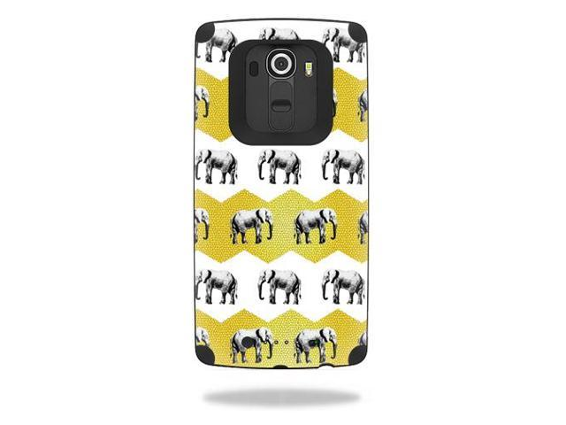 Skin Decal Wrap for Mophie Juice Pack LG G4 cover skins Elephant Chevron