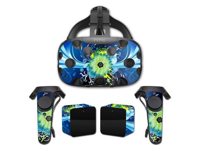 Skin Decal Wrap for HTC Vive cover sticker skins Flower Explosion