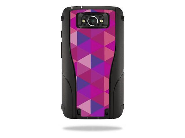 Skin Decal Wrap for Otterbox Defender Droid Turbo Case Case Pink Kaleidoscope
