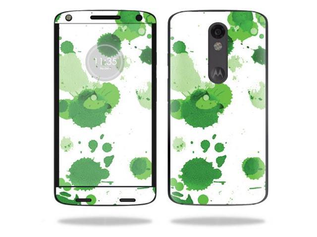Skin Decal Wrap for Motorola Droid Turbo 2 cover sticker Green Drops