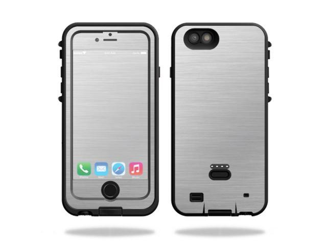 Skin Decal Wrap for LifeProof FRE Power iPhone 6 Plus/6s Plus Cold Steel