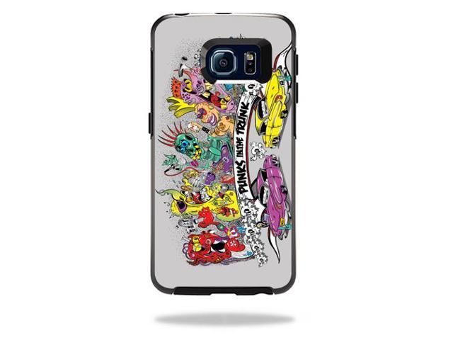 Skin Decal Wrap for OtterBox Symmetry Galaxy S6 Edge Punks in the Trunk
