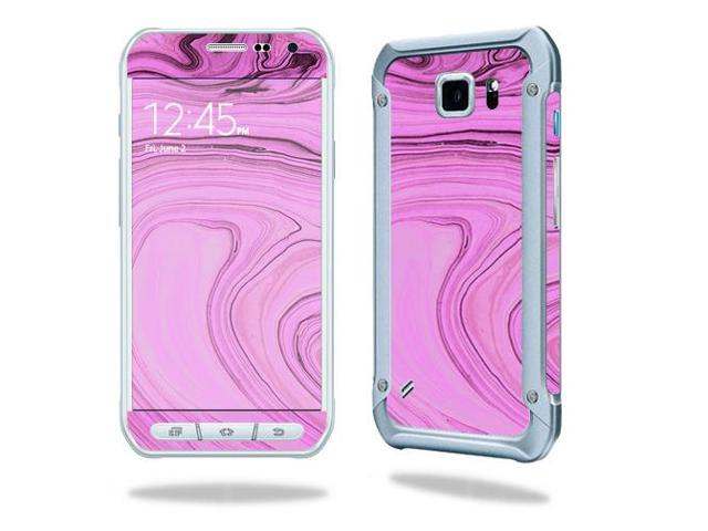 Skin Decal Wrap for Samsung Galaxy S6 Active Pink Thai Marble