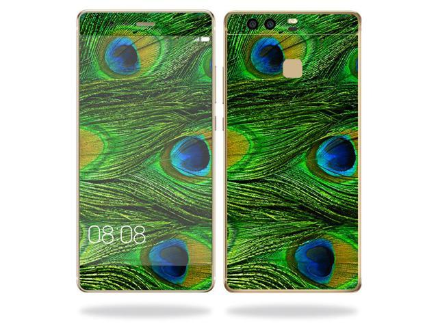 Skin Decal Wrap for Huawei P9 cover sticker skins Peacock Feathers