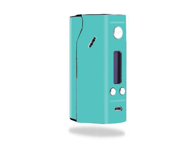 Skin Decal Wrap for Wismec Reuleaux RX200 mod sticker Solid Turquoise