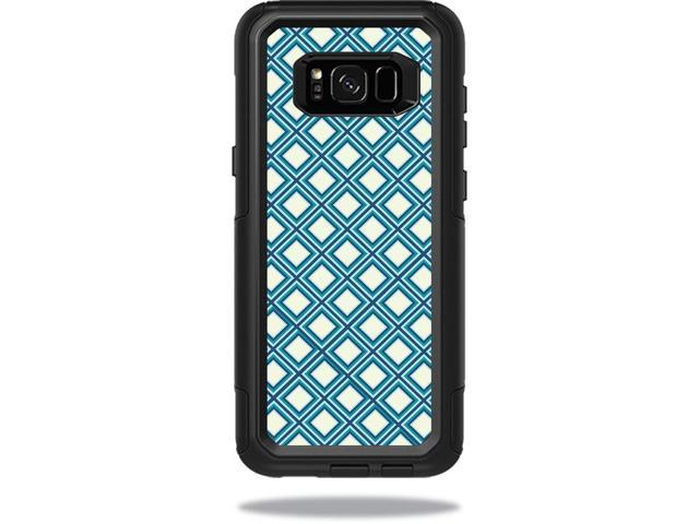 Skin Decal Wrap for OtterBox Commuter Samsung Galaxy S8+ Case Trip Squares