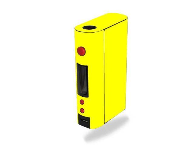 Skin Decal Wrap for Kanger KBOX 120W mod skins sticker vape Solid Yellow