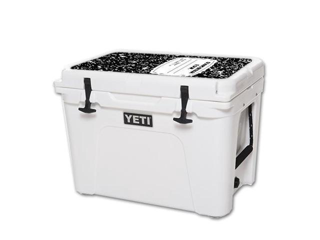 Skin Decal Wrap for YETI Tundra 50 qt Cooler Lid sticker Composition Book