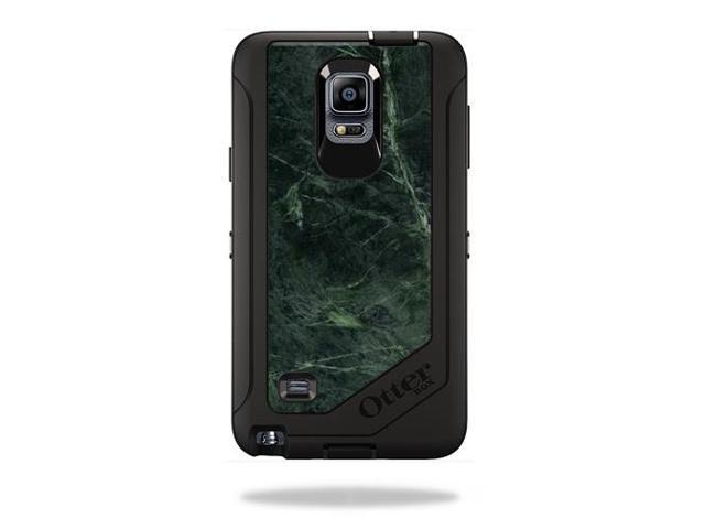 Skin Decal Wrap for OtterBox Defender Galaxy Note 4 Case Green Marble