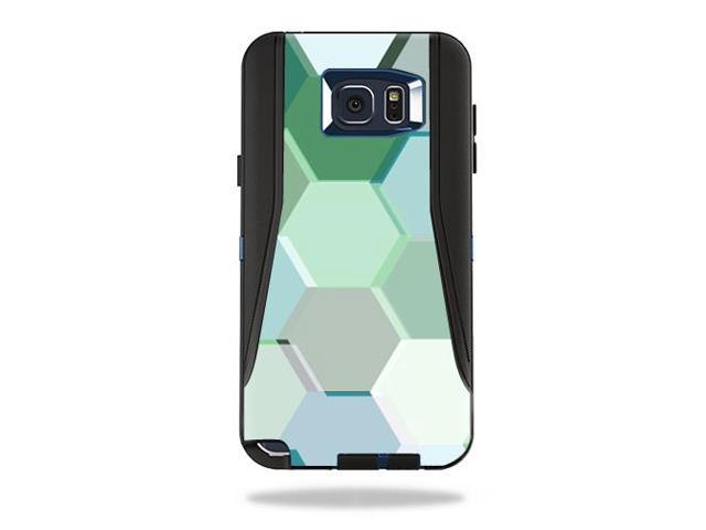 Skin Decal Wrap for OtterBox Defender Galaxy Note 5 Case Hexagon Tiles