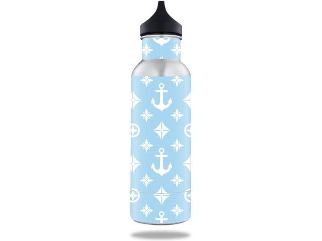 Skin Decal Wrap for BottleKeeper 12 oz Standard sticker Baby Blue Designer
