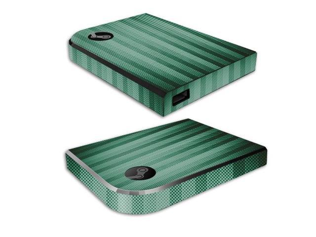 Skin Decal Wrap for Valve Steam Link cover sticker skins Green Lines
