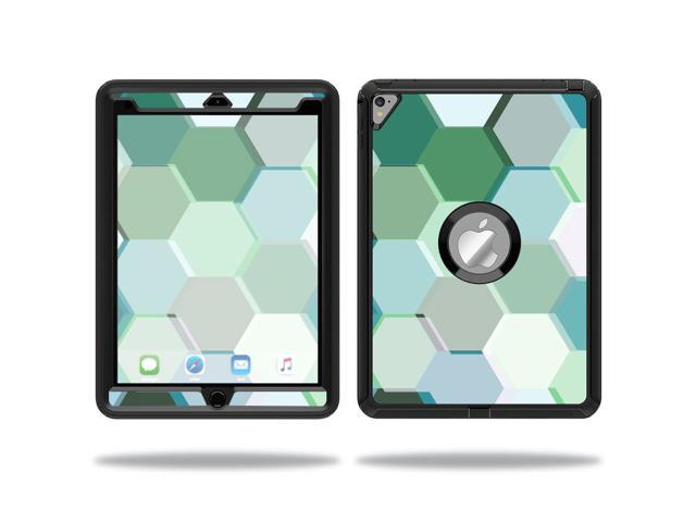 Skin Decal Wrap for OtterBox Defender Apple iPad Pro 9.7 sticker Hexagon Tiles