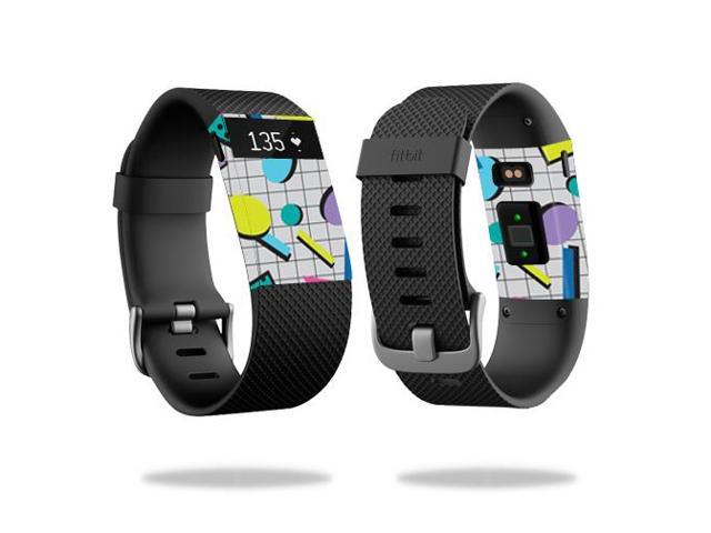 Skin Decal Wrap for Fitbit Charge HR sticker Awesome 80s