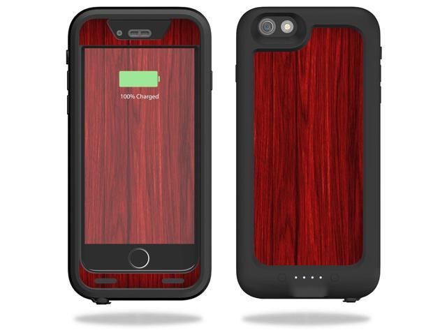 Skin Decal Wrap for Mophie Juice Pack H2Pro iPhone 6/6s Plus Cherry Grain