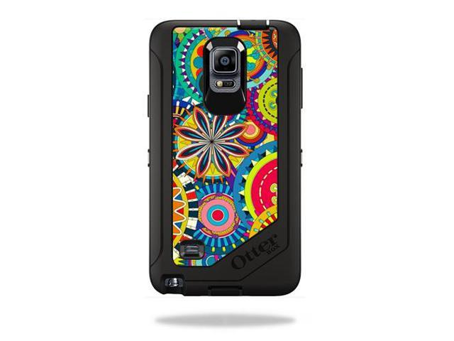 Skin Decal Wrap for OtterBox Defender Galaxy Note 4 Case Flower Wheels