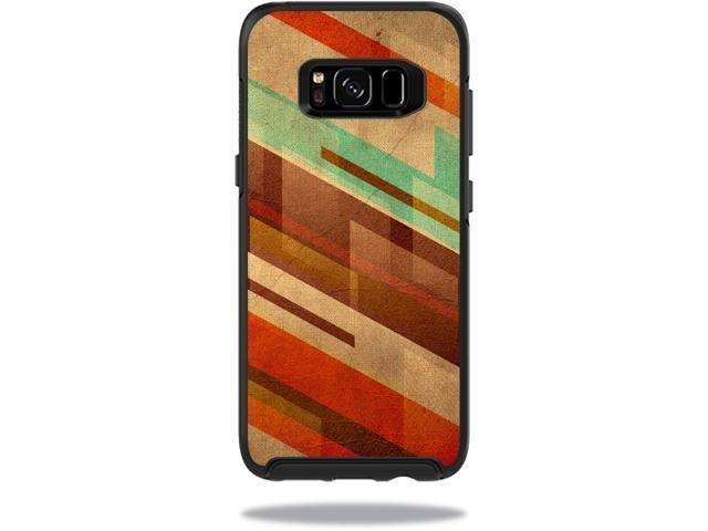 Skin Decal Wrap for OtterBox Symmetry Samsung Galaxy S8 Case Abstract Wood