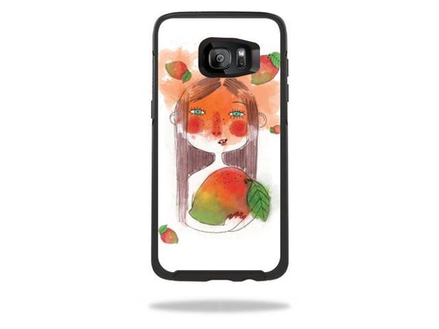 Skin Decal Wrap for OtterBox Symmetry Samsung Galaxy S7 Edge Case April Mango