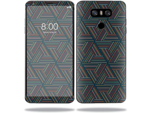 Skin Decal Wrap for LG G6 sticker Triangle Stripes