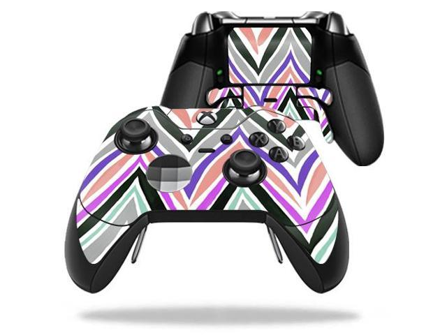 Skin Decal Wrap for Microsoft Xbox One Elite Controller Colorful Chevron