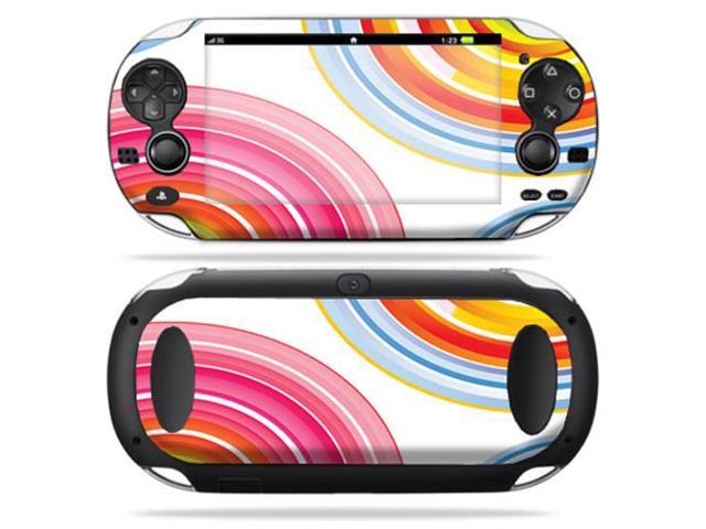 Protective Vinyl Skin Decal cover for Sony PS Vita Playstation Lollipop Swirls