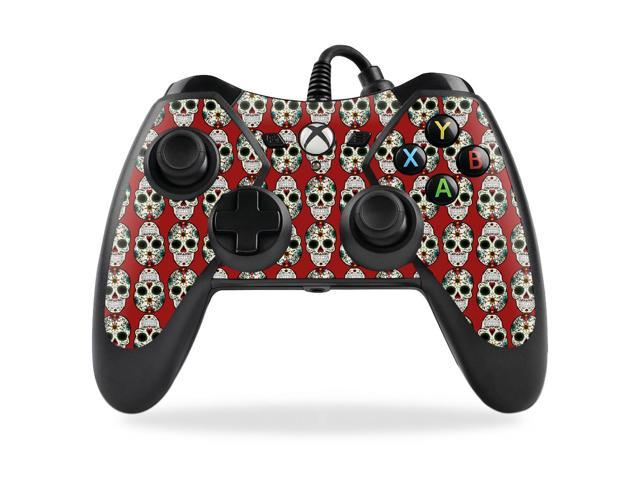 Skin Decal Wrap for PowerA Pro Ex Xbox One Controller Sugar Skull