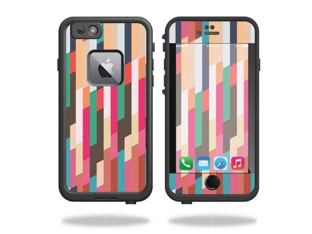 Skin Decal Wrap for Lifeproof Fre iPhone 6 Plus / 6S Plus Crazy Stripes