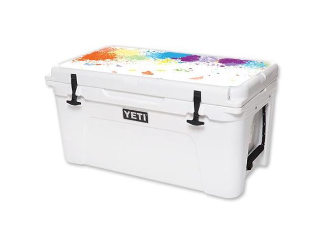 Skin Decal Wrap for YETI Tundra 65 qt Cooler Lid sticker Splash Of Color