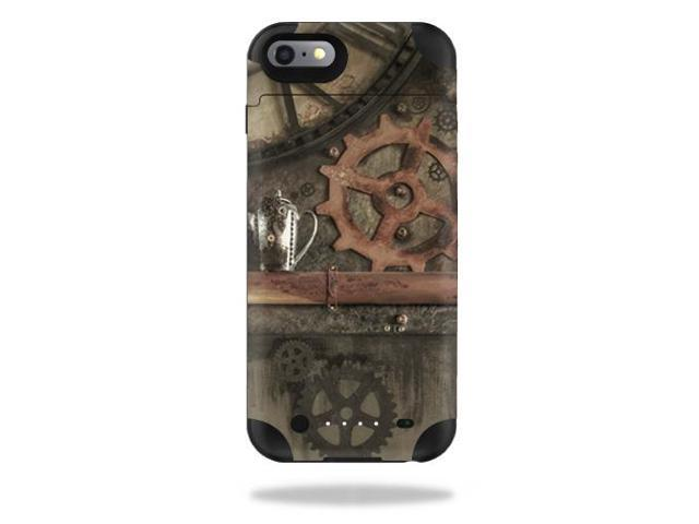 Skin Decal Wrap for Mophie Juice Pack iPhone 6 Plus/6s Case Steam Punk Room