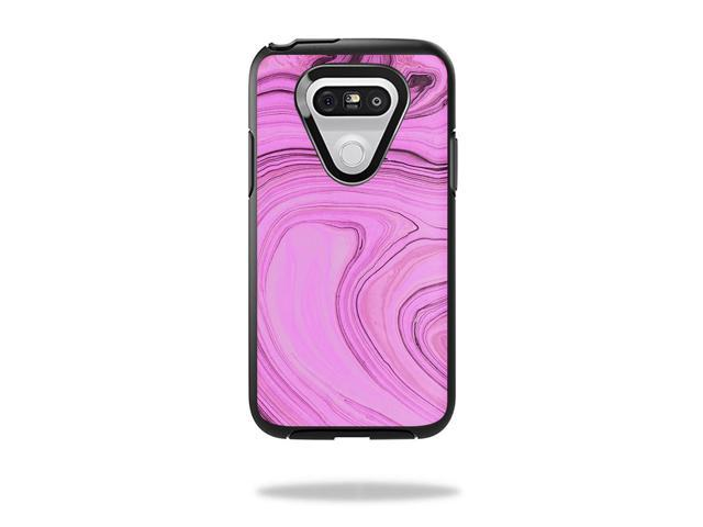 Skin Decal Wrap OtterBox Symmetry LG G5 Case Pink Thai Marble