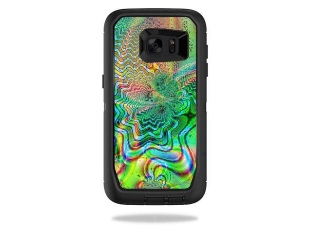 Skin Decal Wrap for OtterBox Defender Galaxy S7 Edge Psychedelic