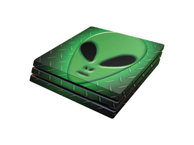 Skin Decal Wrap for Sony PlayStation 4 Pro PS4 Alien Invasion
