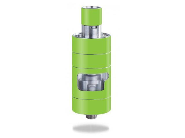 Skin Decal Wrap for Innokin iSub Apex Tank mod sticker Solid Lime Green