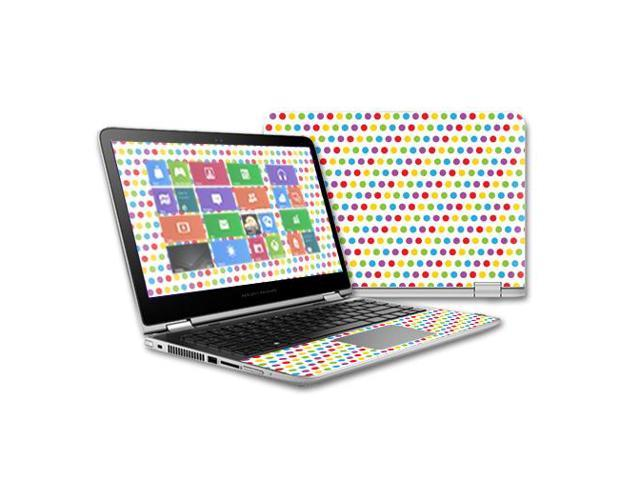 Skin Decal Wrap for HP Pavilion x360 13 Touch (2015 Version) skins Candy Dots