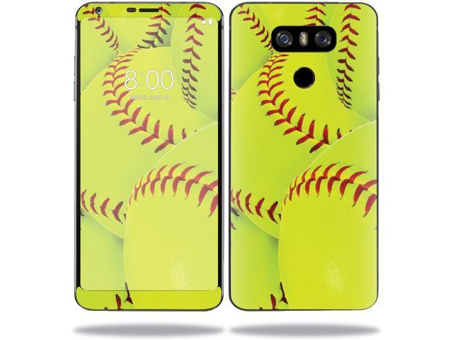 Skin Decal Wrap for LG G6 sticker Softball Collection