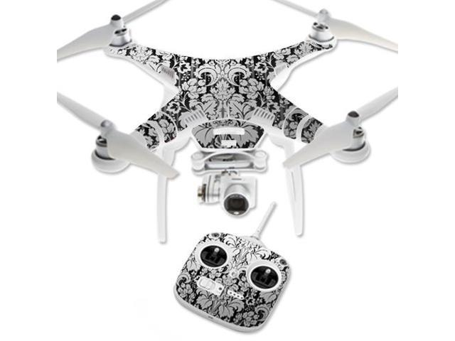 Skin Decal Wrap for DJI Phantom 3 Standard Quadcopter Drone Floral Retro