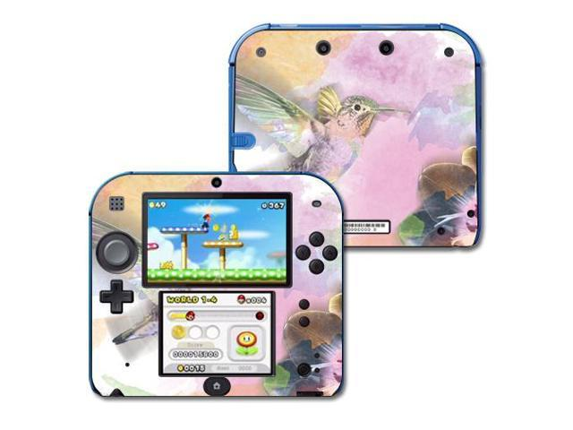 Skin Decal Wrap for Nintendo 2DS sticker Water Color Mocking
