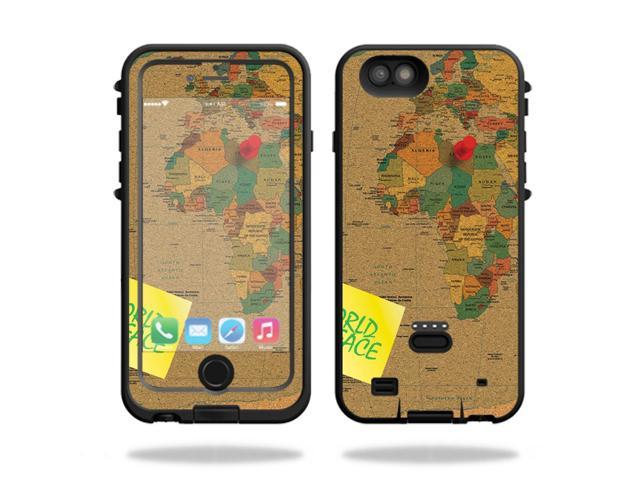 Skin Decal Wrap for LifeProof Fre POWER iPhone 6 Plus/6s Plus Case World Peace