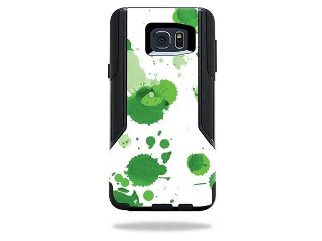 Skin Decal Wrap for OtterBox Commuter Samsung Galaxy Note 5 Green Drops