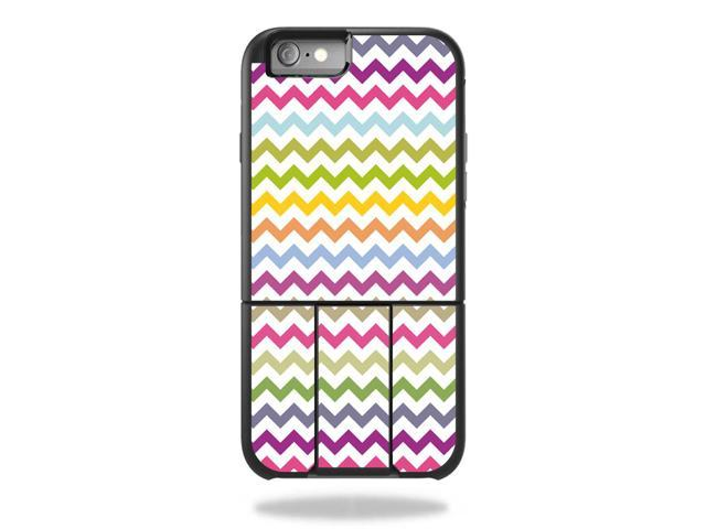Skin Decal Wrap for OtterBox Universe iPhone 6/6s Rainbow Chevron