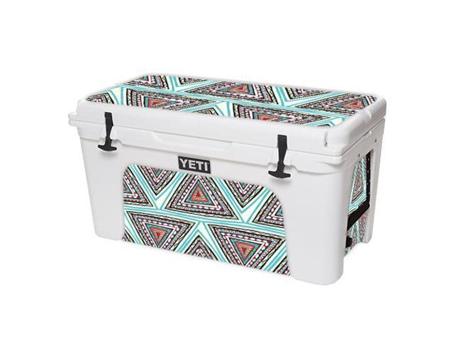Skin Decal Wrap for YETI Tundra 75 qt Cooler sticker cover Aztec Pyramids
