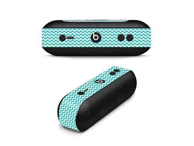Skin Decal Wrap for Beats By Dr. Dre Beats Pill Plus sticker Turquoise Chevron