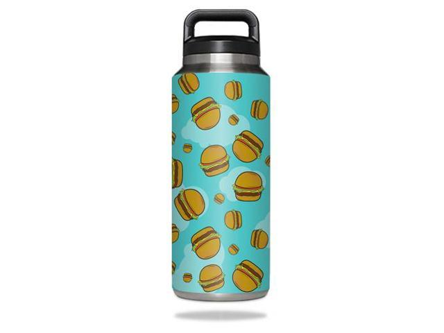 Skin Decal Wrap for YETI Rambler Bottle 36 oz cover sticker Burger Heaven